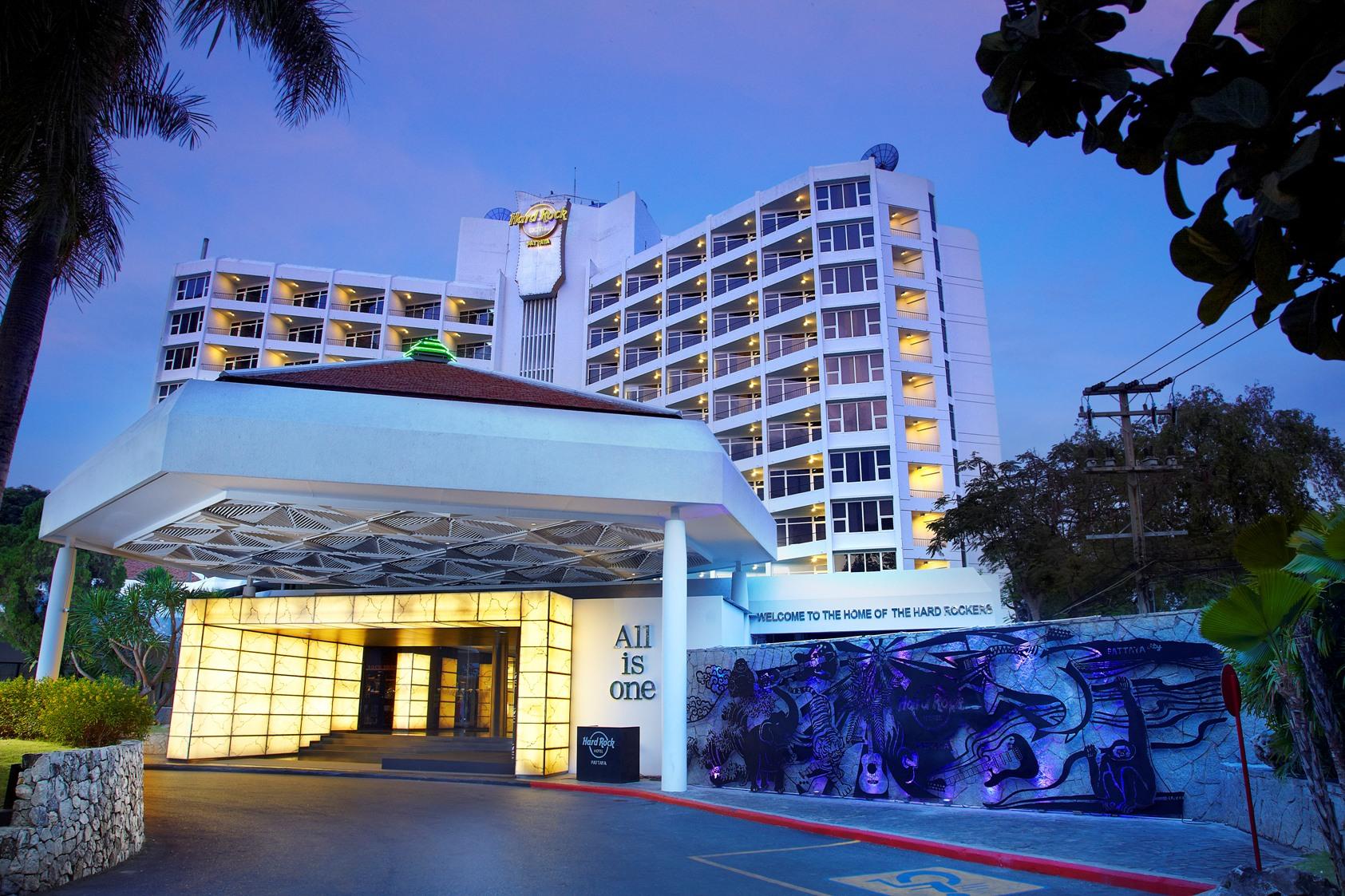 hard rock hotel pattaya