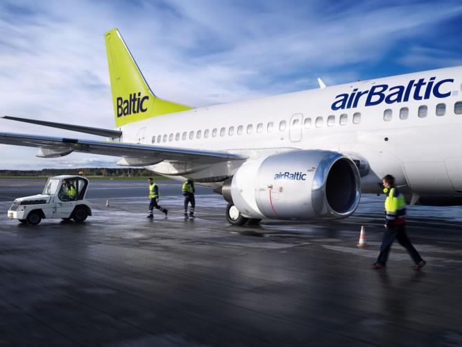 AirBaltic увеличивает частоту полетов по маршруту Рига-Минск-Рига